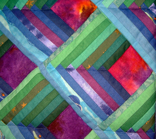 Cosmic Corridors Quilt Detail Flickr Photo Sharing
