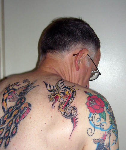Sailor jerry dragon tattoo i just got another new tattoo for Tom and jerry tattoo