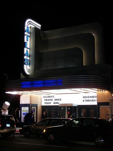 Marquee, Atlas Performing Arts Center