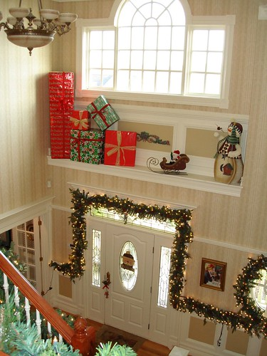Christmas Decor Foyer : Foyer christmas decor flickr photo sharing