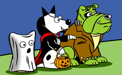 Dogpile Halloween 2006 Search Engine Logos | by rustybrick