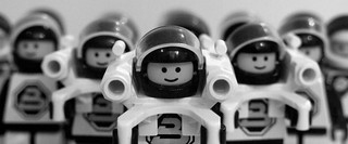 Lego space men | by Gaetan Lee