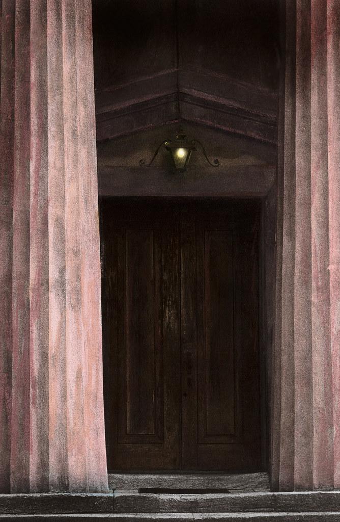 Old Medical College Door, Augusta, GA, 1970s