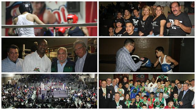 Clausura del programa Boxeando Sin Fronteras en Chicago