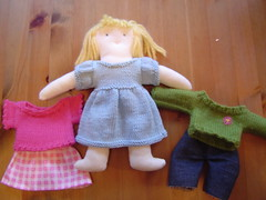 blond doll & outfits | by katbaro