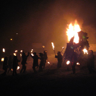 Imbolc 2007 : Mr Fox Dance group escort the Green Man (spring) | by :mrMark: