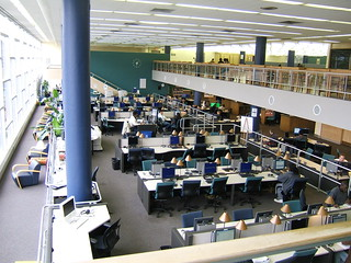 GA Tech library info commons west | by cindiann