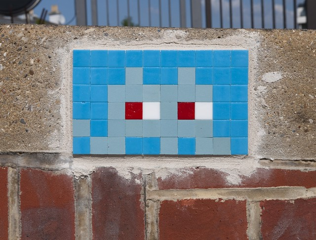 Reactivated Space Invader - LDN_045