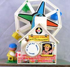 "Vintage Fisher Price Ferris Wheel Toy ""Little People"" | Flickr"
