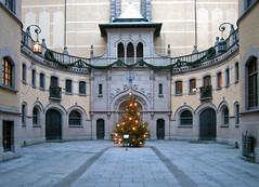 Хальвюльский музей. Hallwylska museet at Christmas