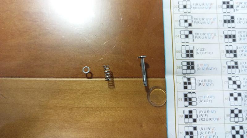 魔方教室 MF5 墊片、彈簧、螺絲