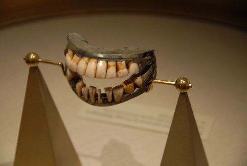 George Washington's false teeth!!!!! | by natmaconjr
