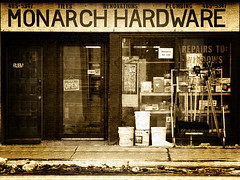 monarch hardware | by Jay Morrison