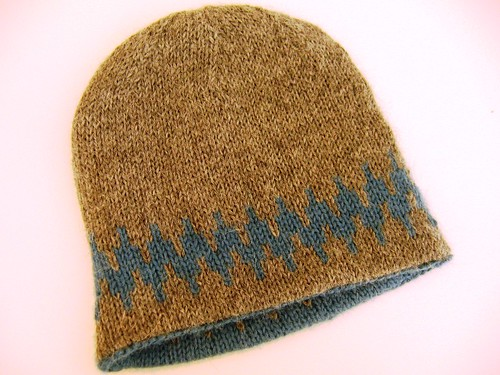 Very Warm hat - side 1 | by Anny Purls