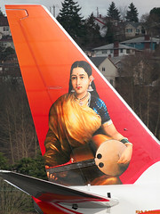 "Air-India Express VT-AXP ""Indian art"" 