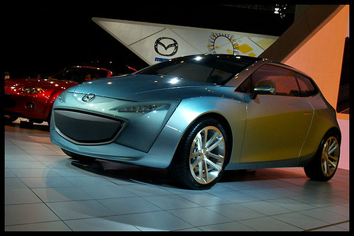Mazda Sassou Concept | by Eric Flexyourhead (shoulder injury, slow)
