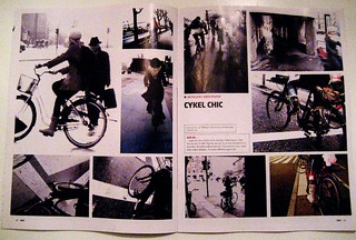 Cycle Chic World Premiere in KBH Magazine | by Mikael Colville-Andersen