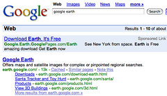 google earth - Google Search (20070223) | by rustybrick