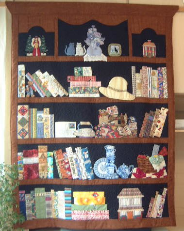 Bookcase Quilt Side2 Flickr Photo Sharing
