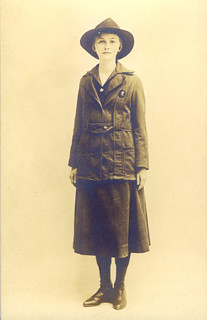 Postcard of Girl Scout  Khaki Uniform | by oldpatterns