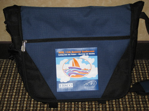 Here's the conference bag | by Association of College & Research Libraries