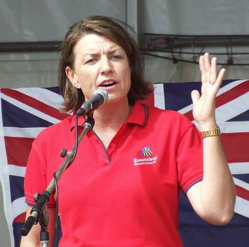 Anna Bligh - 070507 Labor Day March and Rally, Fortitude Valley and Bowen Hills, Brisbane, Queensland, Australia-236 | by David Jackmanson