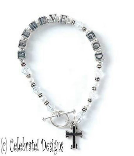 believe god bracelet | by notes from the trenches