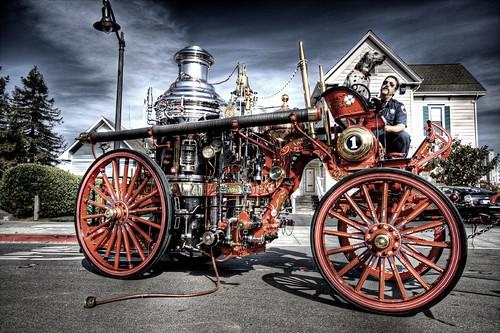 Steam Fire Engine | by Josh Sommers