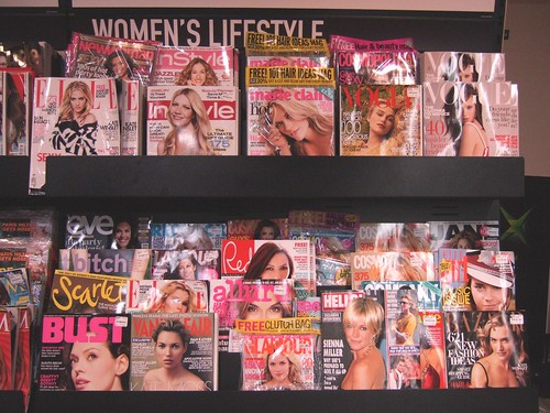 Funny how women's magazines have women on the front cover yet... | by jaimelondonboy