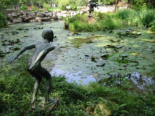 Zilker Park Umlauf Sculpture Garden Austin Texas Flickr