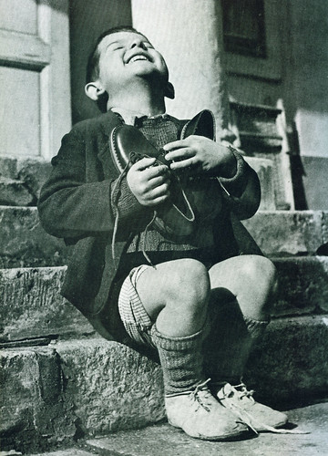 """New Shoes"" by Gerald Waller, Austria 1946 
