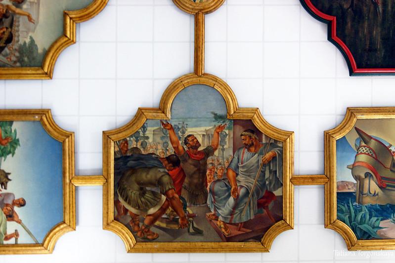 Потолок от Йозо Кляковича