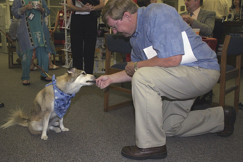 Doppler Dog - Books 'N Brew 2007 | by Pitt Community College