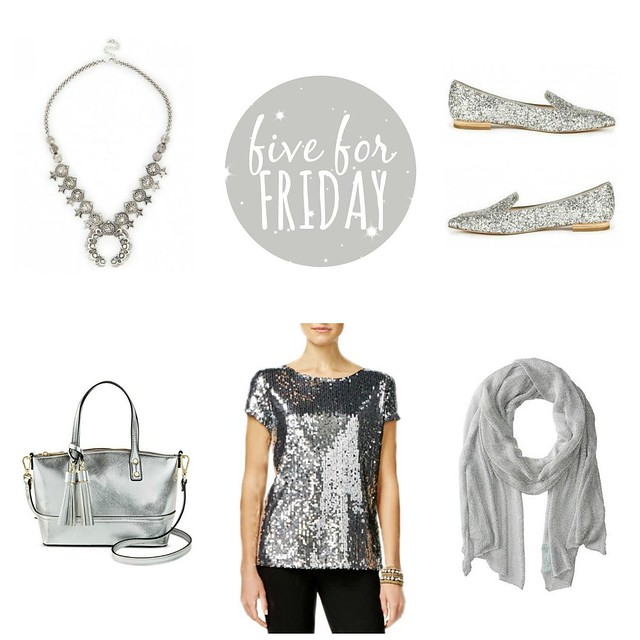 five for friday one is silver | Style On Target blog