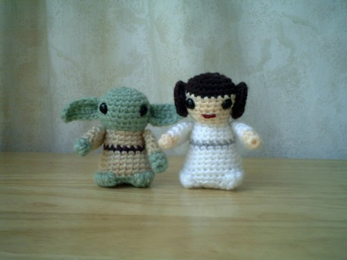 Yoda and Princess Leia | by Lucyravenscar (Angry Angel)