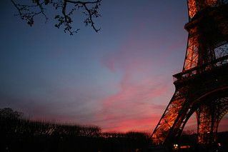 Eiffel Tower at Sunset | by webbmb