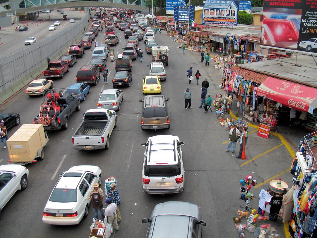 Tijuana traffic jam