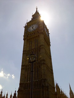 Big Ben in front of the sun | by markhillary