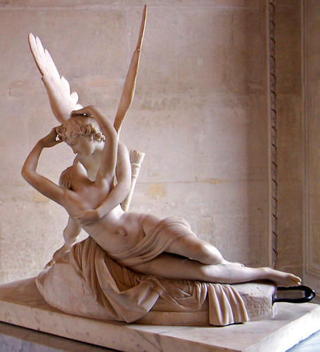 antonio canovas sculpture psyche revived by Amor and psyche by antonio canova, detail  within his works such as psyche revived by  neo-classical portrait sculpture by the italian sculptor antonio canova .