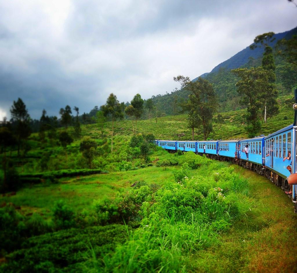 Sri Lanka - Train de Kandy à Ella