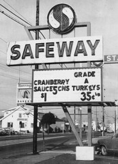 Safeway Grocery Store, Washington, 1960's | by Roadsidepictures