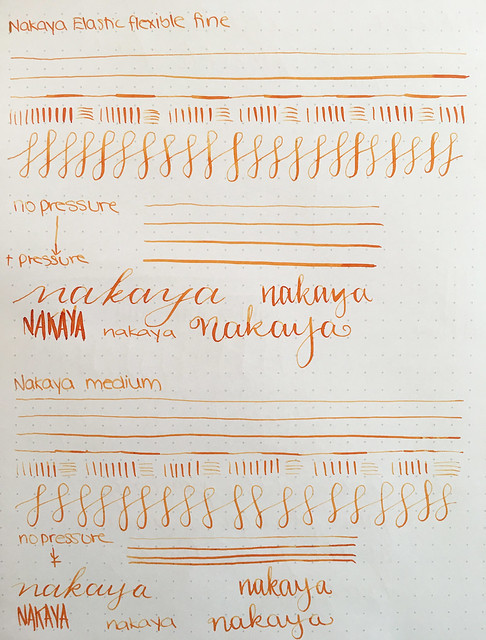 Nakaya Nibs & Video Elastic, Medium, Medium Soft, Broad, Music @Iguana_Sell 18