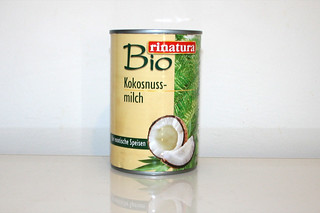 16 - Zutat Kokosmilch / Ingredient coconut milk