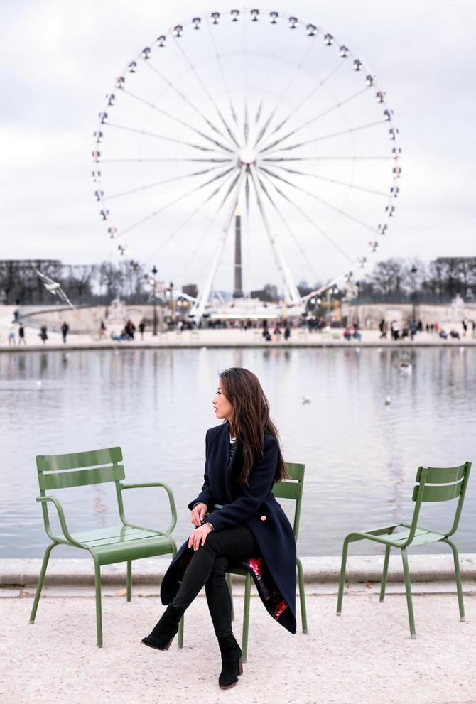paris ferris wheel jardin des tuileries