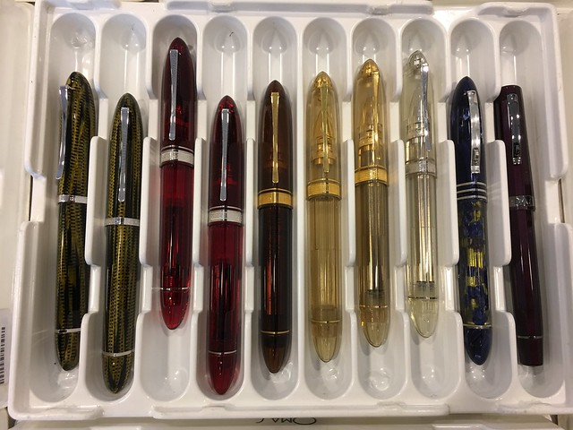 Madrid Pen Show 2016 Close Ups! @Iguana_Sell 7