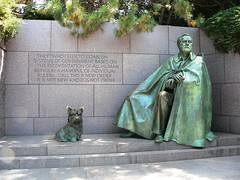 A man and his dog, immortalized | by Team Frosick