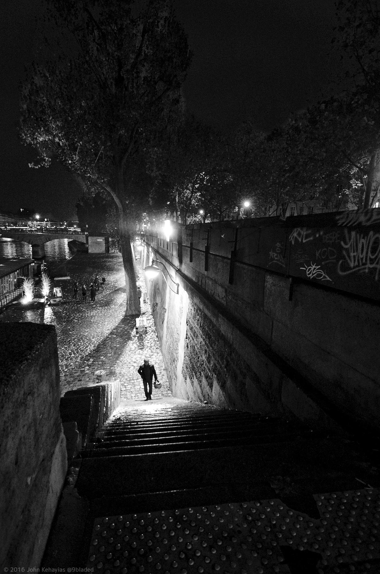 Stairs on the Seine