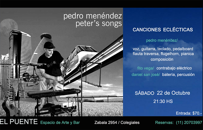 Peters Songs @ El Puente 2016