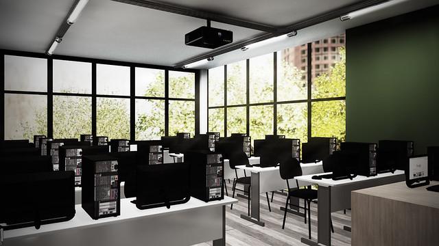 Escola de informática - Sala de Aula