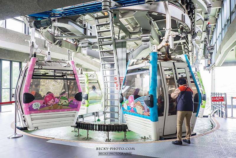 2016.Nov Maokong Gondola @Taipei 台北貓空纜車